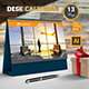 Desk Calendar - GraphicRiver Item for Sale