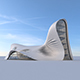 Futuristic building - 3DOcean Item for Sale