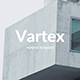 Vartex Minimal Powerpoint Template - GraphicRiver Item for Sale
