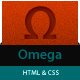 Omega - CSS&HTML Portfolio - ThemeForest Item for Sale
