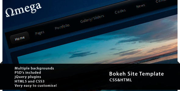 Free Download Omega - CSS&HTML Portfolio Nulled Latest Version