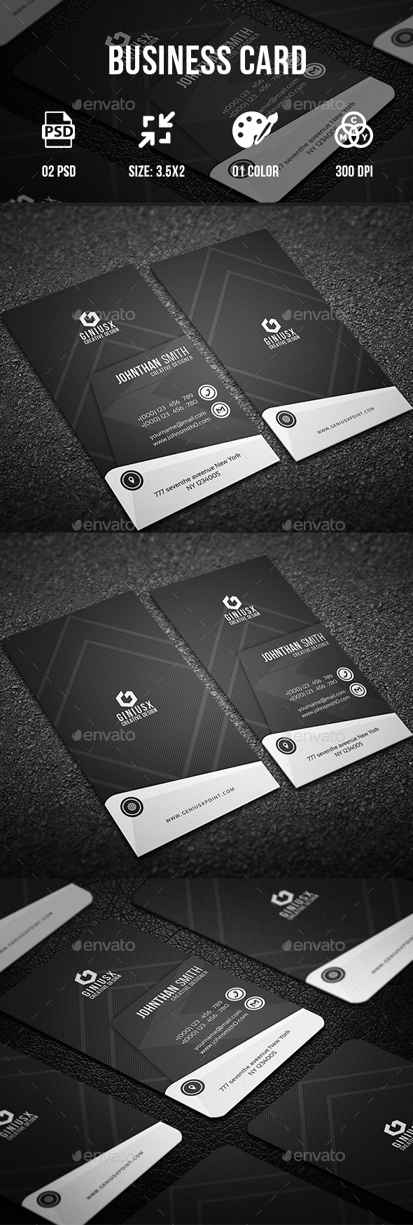 Business Card II - Business Cards Print Templates