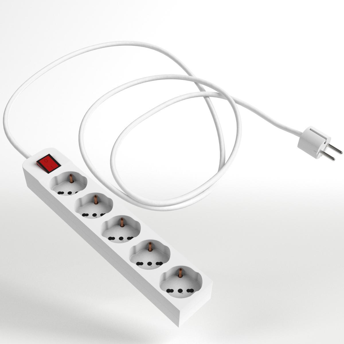 Schuko Strip and Plug 2