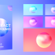 Gradient Sphere Backgrounds Pack - VideoHive Item for Sale