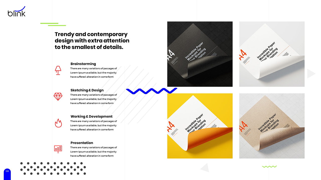 Blink Powerpoint Template by DrawZen | GraphicRiver