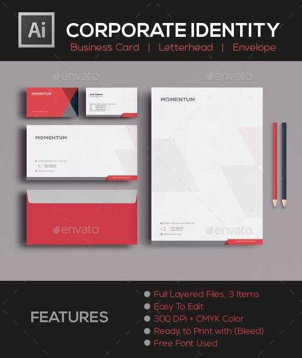 GraphicRiver CORPORATE IDENTITY 20695020