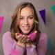 Woman Confetti Celebration - VideoHive Item for Sale