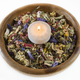 Flower potpourri in a wood bowl. - PhotoDune Item for Sale