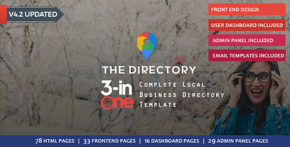 The Directory - Directory & Listing Template - Business Corporate