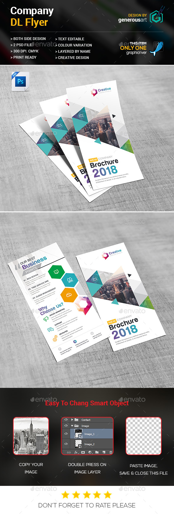 Company DL-Flyer - Corporate Flyers