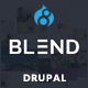 Blend - Multi-Purpose Responsive Drupal 8 Theme