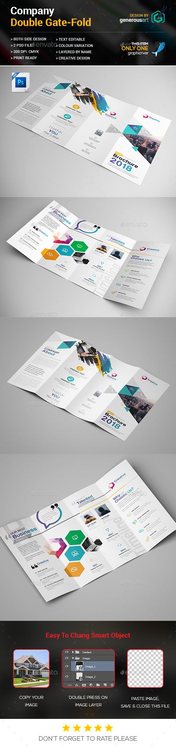 Double Gate-fold - Corporate Brochures
