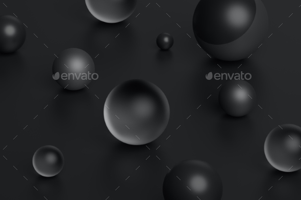 GraphicRiver Abstract 3D Rendering of Geometric Shapes 20695597