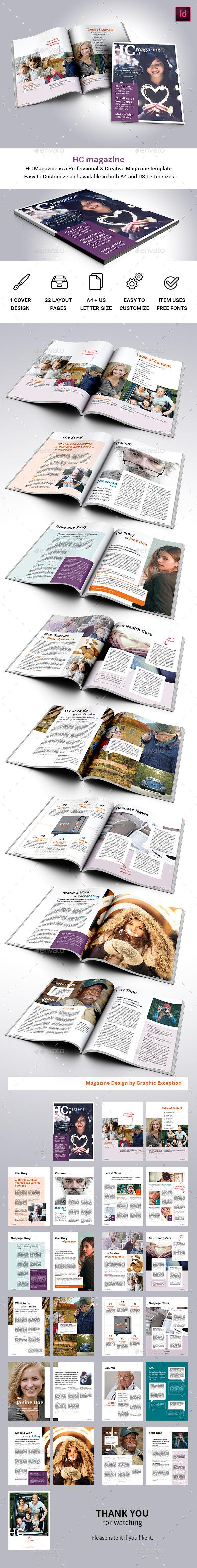 HC Magazine - Magazines Print Templates