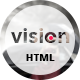 Vision - Portfolio /  Creative Agency /  Resume/ CV  Landing Page HTML5 Template.