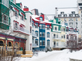 Mont-Tremblant village in winter