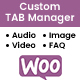 WooCommerce Custom Tab Manager
