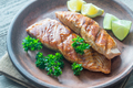 Roasted salmon steak - PhotoDune Item for Sale