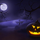 Halloween Night Looped Background - VideoHive Item for Sale