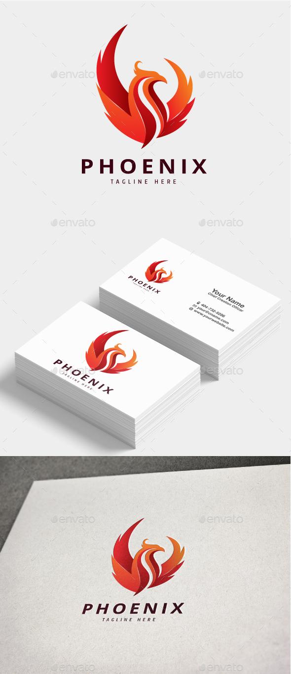 GraphicRiver Phoenix Logo 20695856
