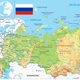 Russia Physical Map - GraphicRiver Item for Sale