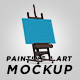 Painting & Art Mockup - GraphicRiver Item for Sale