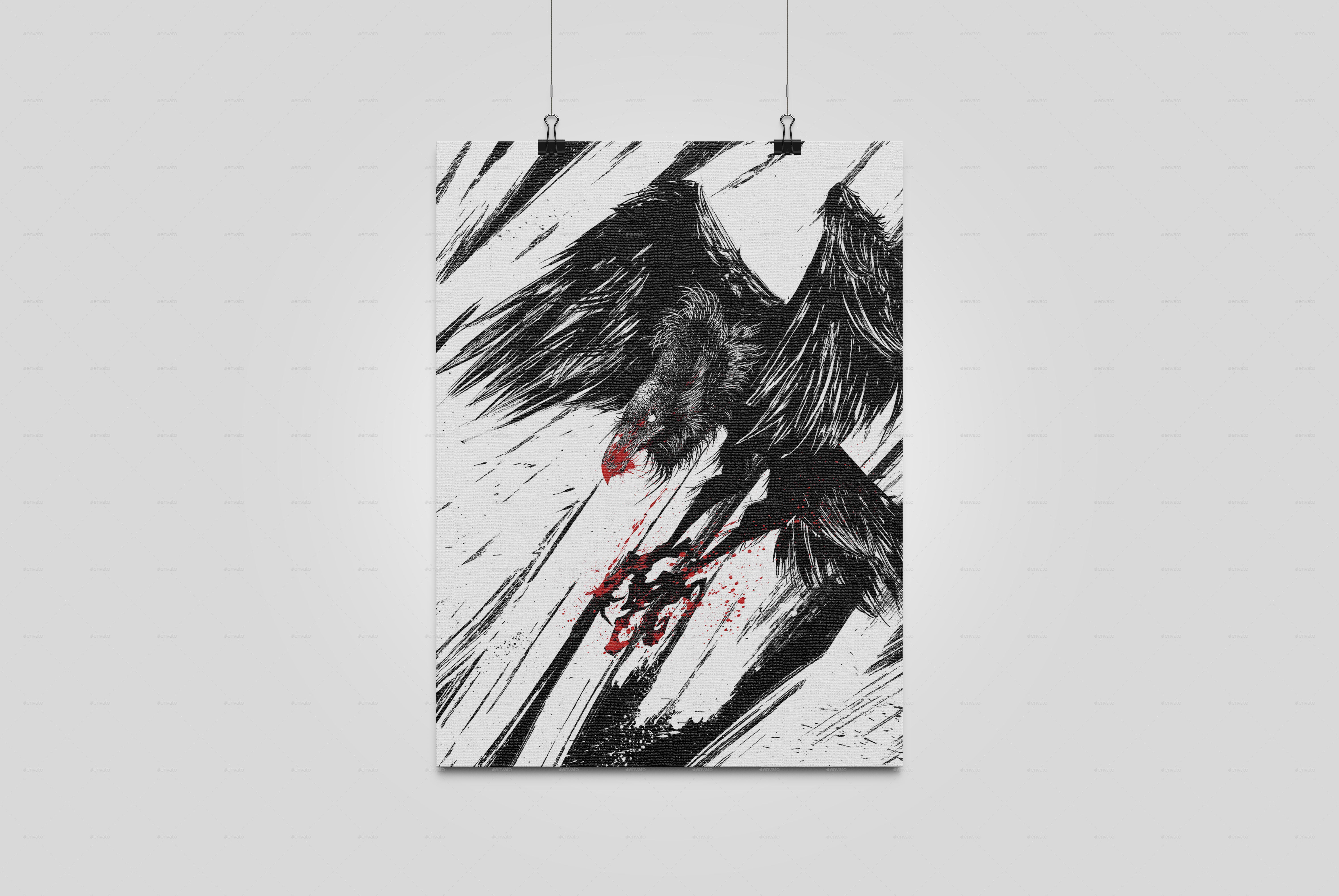 Painting & Art Mockup by XFeatures | GraphicRiver