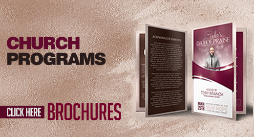 Church Programs and Brochures