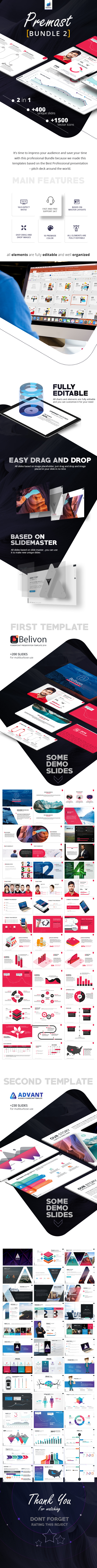 GraphicRiver Premast 2 Business PowerPoint Template in 1 Bundle 20696305