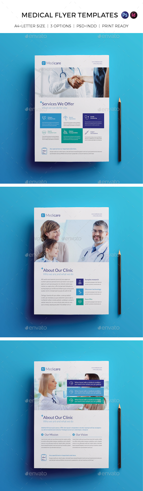 Medical Flyer Templates - Corporate Flyers