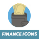 20 Finance Flat Icons - GraphicRiver Item for Sale