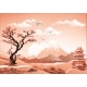 Landscape of Nature Asia Morning - GraphicRiver Item for Sale