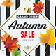 Autumn Sale Flyer - GraphicRiver Item for Sale