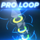 Neon Pillars - Professional VJ Background Loop - VideoHive Item for Sale