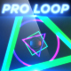 Neon Geometry - Professional VJ Background Loop - VideoHive Item for Sale