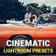 20 Cinematic Lightroom Presets