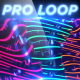 Neon Wobble - Professional VJ Background Loop - VideoHive Item for Sale