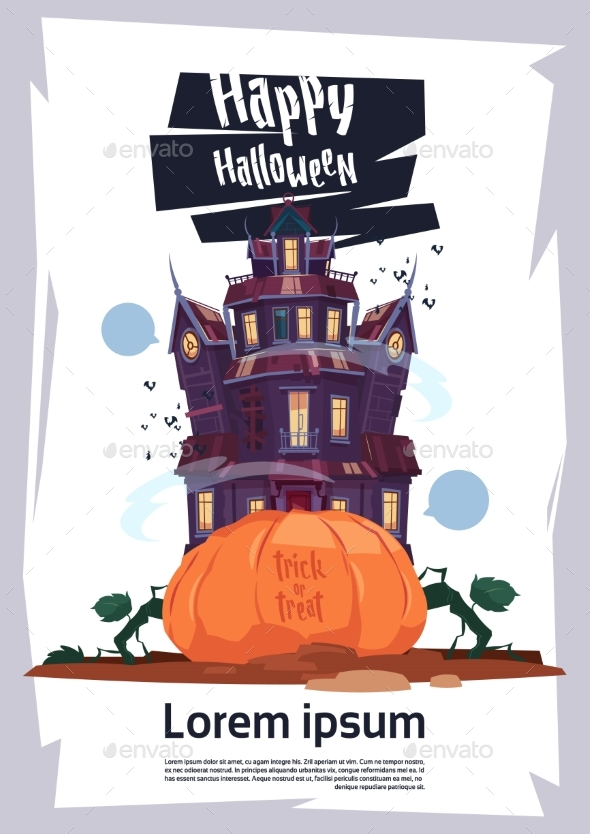 Happy Halloween Gothic Castle - Buildings Objects