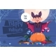 Kid Wears Bat Costume Happy Halloween Banner