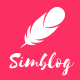 Simblog - Minimal Blogging Theme - ThemeForest Item for Sale