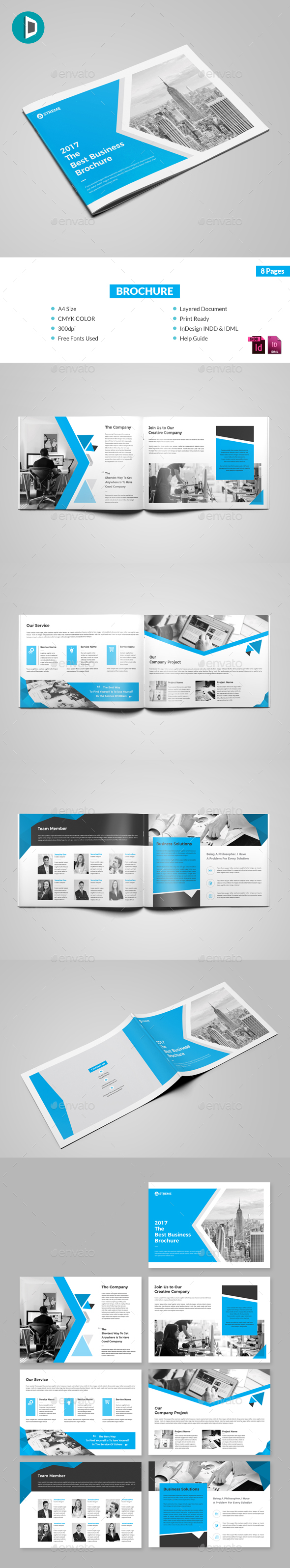 Landscape Brochure - Corporate Brochures