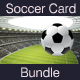 Soccer Gift Card Bundle - GraphicRiver Item for Sale