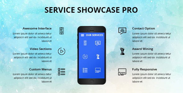 Services Showcase Wordpress Plugin - CodeCanyon Item for Sale