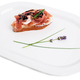Prosciutto bruschetta with ricotta and arugula. - PhotoDune Item for Sale