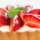 Delicious strawberry shortcake with whipped cream. - PhotoDune Item for Sale