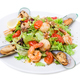 Delicious warm seafood salad. - PhotoDune Item for Sale