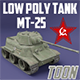 MT-25 USSR Toon Tank *Big* - 3DOcean Item for Sale