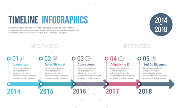 GraphicRiver Timeline Infographics 20697995