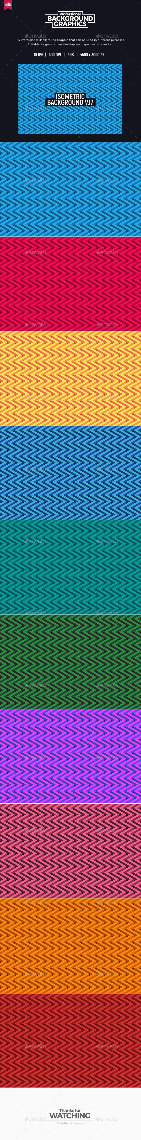 Isometric Background V.17 - Patterns Backgrounds