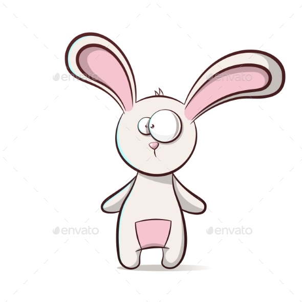 Cartoon Rabbit - Animals Characters